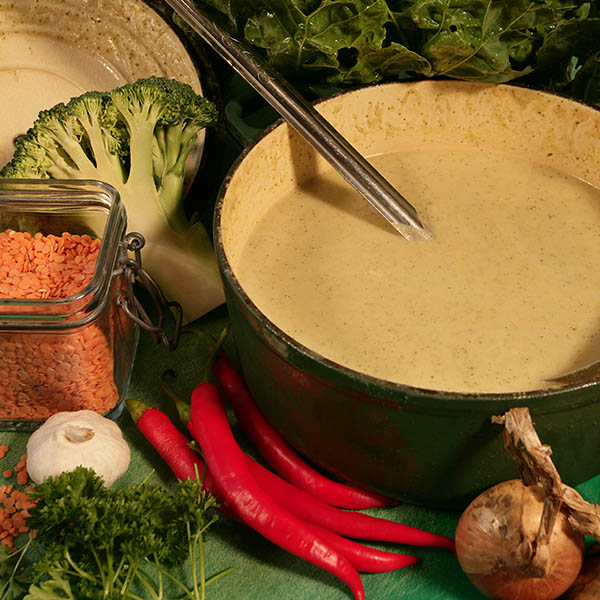 Brocolli & Chilli Soup