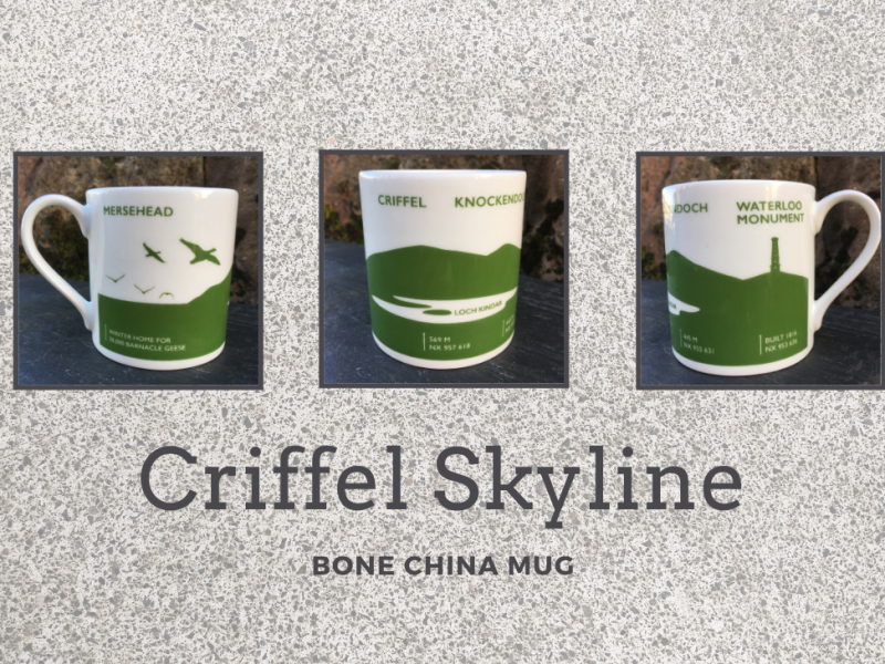 bone china mug with Criffel ideal father's day gift